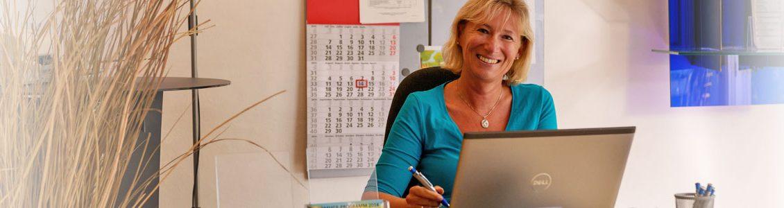 Verena Gschiegl - Assistentin im Lernzentrum Der Pauker