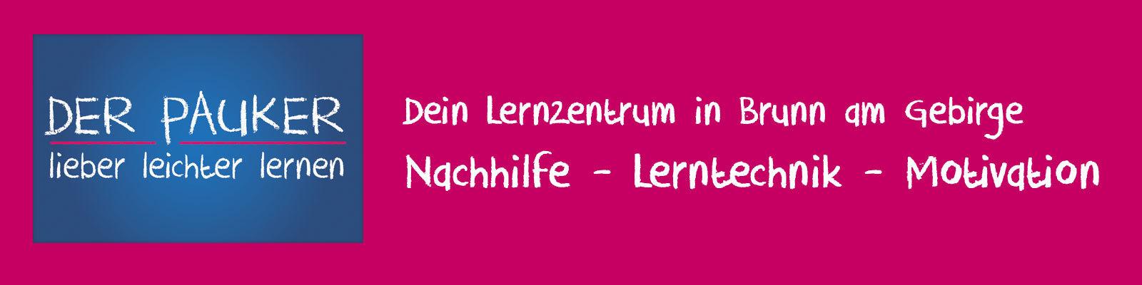Lernzentrum Der Pauker - Nachhilfe - Lerntechnik -Motivation