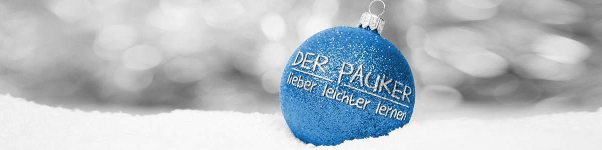 Weihnachtsgeschenk: gratis Lerneinheiten