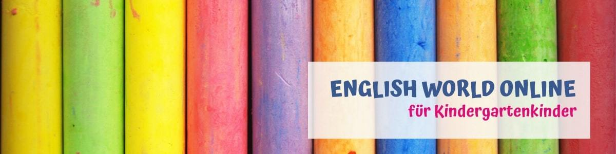 English World online für Kindergartenkinder