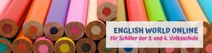 English World online für 3. und 4. Volksschule
